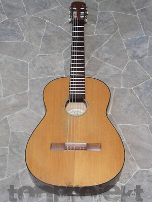 vintage HOPF 4/4 classical GUITAR solid top + sides Gitarre Germany 1973