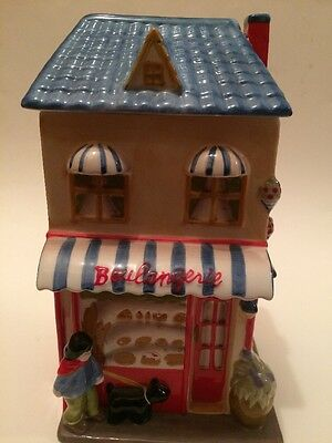 French Bakery Cookie Jar
