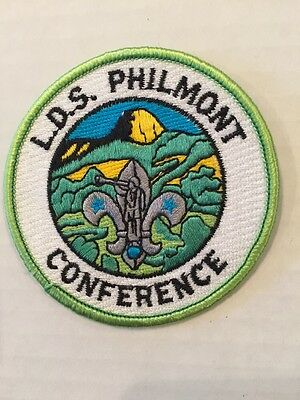 Philmont LDS Conference Delegate Patch