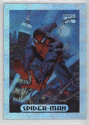 1994 Fleer Marvel Masterpieces Limited Edition Holofoil #8 Spider-Man Card d2m