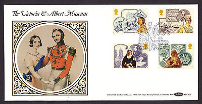 1987 Queen Victoria Set Of 4 On Benham Blcs25 Official Fdc Special Cancellation