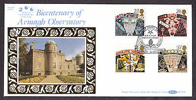 1990 Astronomy Set Of 4 On Benham Blcs58 Fdc With Sp/hs