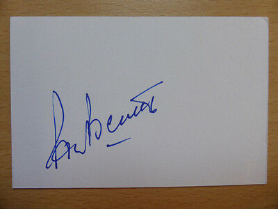 Hand Signed Football Index Cards *****B***** Page 3