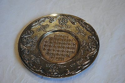 Vintage Silver Plated  Plate, Made in England, 945533