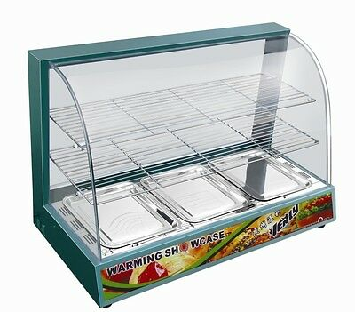Commercial Warmer Heated Hot Food Cabinet Display Just £259.99