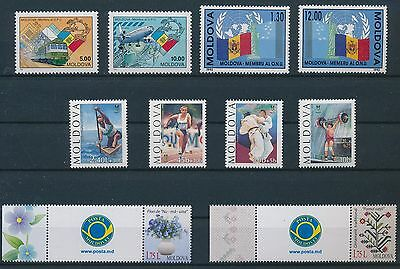 LF97002 Moldova    nice lot of good stamps MNH