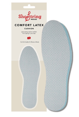 Latex Comfort Insoles Cool Fresh Insoles - Adults Comfort Insoles | All Sizes