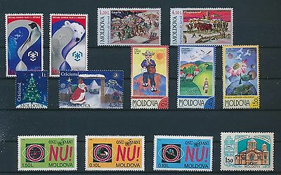LF97017 Moldova    nice lot of good stamps MNH