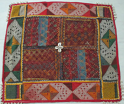 Indian Antic Old Handmade Vintage Wall Hanging Home Decor Tapestry Embroidery