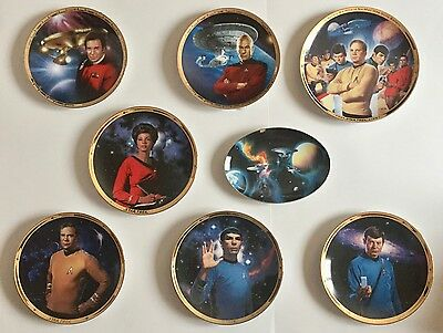 STAR TREK Collector's Plate  -  Buy 1 Get 1 Free /  2 for only $12
