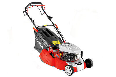 Cobra RM40SPC Self-Propelled Rear Roller Petrol Lawn Mower - With Free Oil