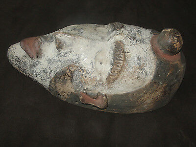 Ancient African Very Old African Bakongo Mask Africa Congo Masque Punu Antique