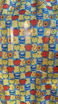 Clearance Sale Mr Men & Little Miss 99p start - 2 Sheets Wrapping & Free Poster