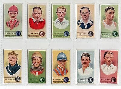 'sportsmen   Full Set  Issued By Phillips  In 1936  Vg Cond.