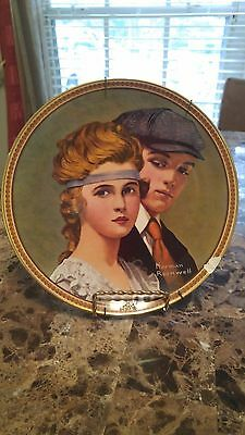Norman-Rockwell-Rediscovered-Women Plate