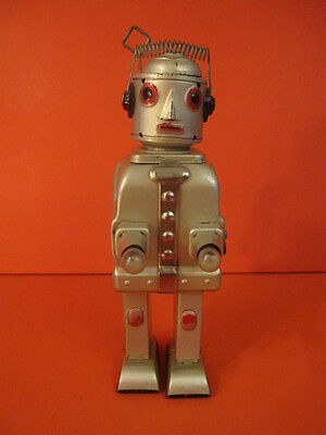 ALL ORIGINAL ALPS Mr ROBOT THE MECHANICAL BRAIN BATTERY OPERATED 1956