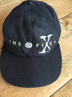 Rare Vintage X Files 'The Truth Is Out There' Snap Back Cap Hat 1990's
