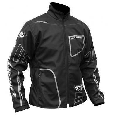 New Wulfsport Black Trials Jacket Enduro Montesa Beta Crf KTM YZF XCF Txt Ty 4RT