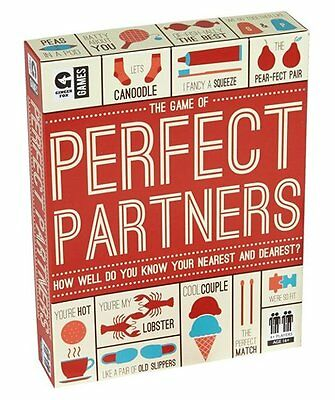 Ginger Fox PERFECT PARTNERS GAME Card Quiz Party Game 16+