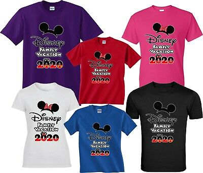 2018 Disney Family Vacation T-Shirts Disney Cute  All Sizes Minnie & Mickey
