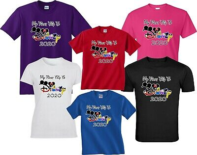 2019 DISNEY FAMILY VACATION my first trip T-SHIRTS ALL SIZES MINNIE & MICKEY