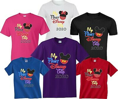 2019 DISNEY FAMILY VACATION my first trip T-SHIRTS ALL SIZES MINNIE, MICKEY body