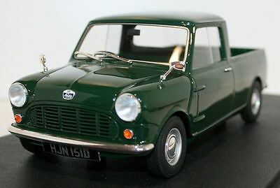 Cult 1/18 Scale CML015-1 Austin Mini Pick-up 750 Green Resin Cast Model Car