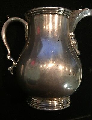 Georg Jensen Reproduction Sterling Silver Creamer Pitcher 6.16 Troy Oz Sterling