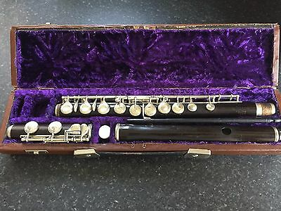 Hawkes & Son Wooden Flute