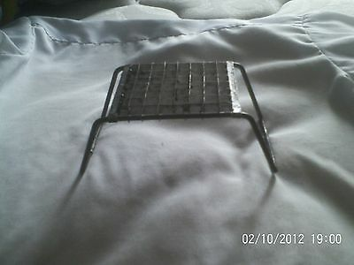 Primitive tin metal  french fry cutter