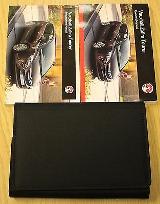 Genuine Vauxhall Zafira Tourer Owners Manual Handbook Wallet 2011-2017 Pack