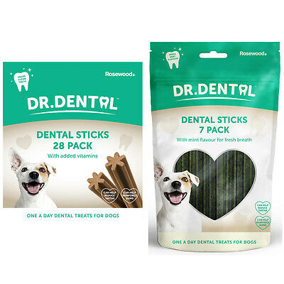 Dr Dental Dog Mint Dental Sticks For Strong Gums and Teeth