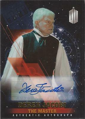 "Doctor Who Timeless - Derek Jacobi ""The Master"" Gold Autograph Card #1/1"
