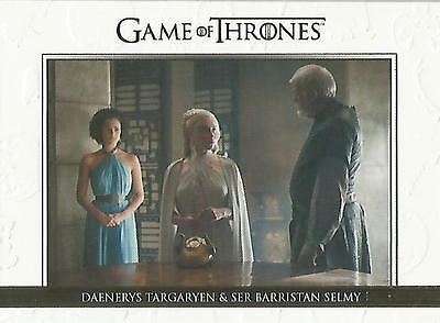 "Game of Thrones Season 5: DL24 GOLD Parallel ""Relationships"" Chase Card #224/225"
