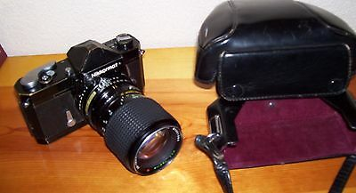 Vintage Nikkormat Camera  Ft N 35Mm With Case And Nikon Lens Made In Japan
