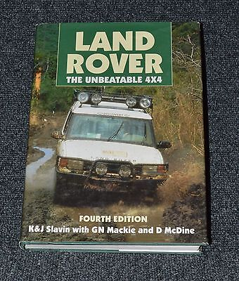 LAND ROVER, THE UNBEATABLE 4x4  K & J  Series Defender Discovery Range Rover etc