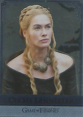 "Game of Thrones Season 5: RM10 ""Cersei/Jaime"" Reflections Mirror Chase Card"