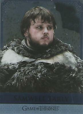 "Game of Thrones Season 5: RM12 ""Samwell/Gilly"" Reflections Mirror Chase Card"