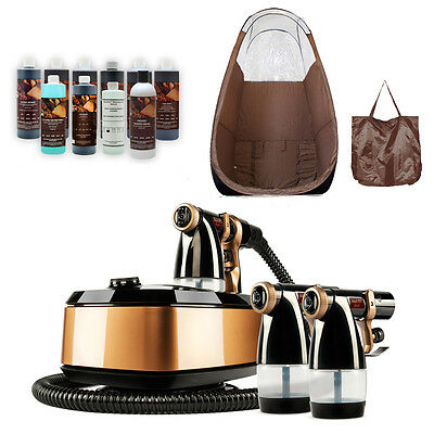 Maximist Allure Xena Spray Tanning System  W Tampa Bay Tan Spray, Brown Tent