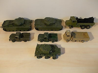 Dinky Toys Military Vehicles X 7