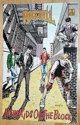 NEW KIDS on the BLOCK 1990 ROCK N ROLL Comics #12~Hard to Find-NM Cond! 1st Prt