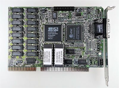 Ati Isa Mach64 Graphics Card Excellent Condition 1021935210 506456 With Warranty