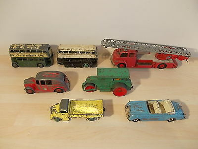 Dinky Toys Assorted Vehicles X 7
