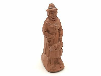 Vintage quirky whistle of a peasant worker