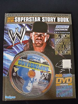 WWE Limited Edition Superstars Story Book & DVD Vol 13