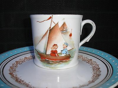 Vintage Child's Nursery Rhyme Cup. Good condition.