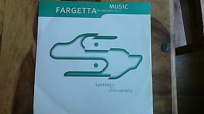 """Fargetta - Synthetic Softcore Pornography 12"""" 1990's Rave Dance House Acid"""