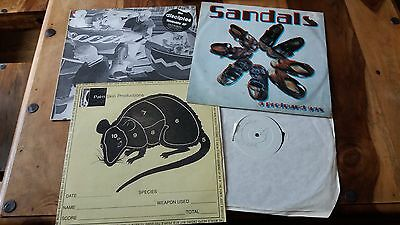"Big Beat Trip Hop Dub 12"" Collection Mo Wax Palm Skin Productions Cup Of Tea"