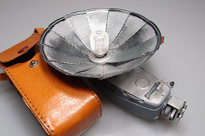Vintage Apex Deluxe Flash W Case&one Bulb