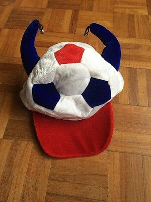 England Football Hat - Red, White, Blue
